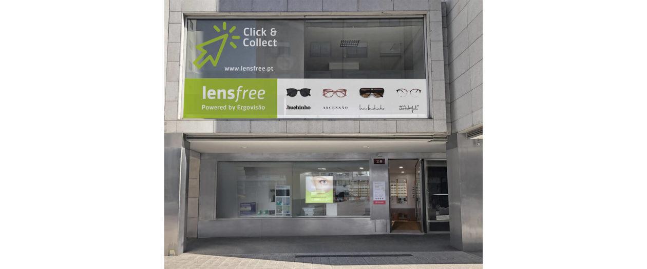 Primeira loja LensFree abriu hoje